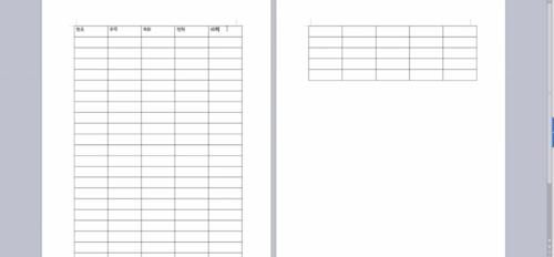 WPS文字如何设置跨页表头的标题行重复 ?第3张